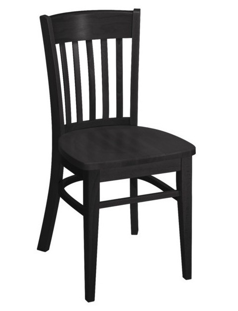 Czarne Krzesło Do Kawiarni Grand Bistro 0403