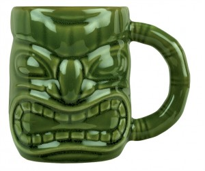 Tiki mug zielony 473 ml